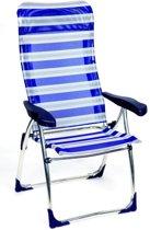 Crespo Standenstoel - AL-215 - Blauw Gestreept