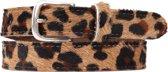 Legend belts 30248 Dames riem-Panter-80 cm