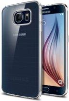 Spigen Air Skin voor Samsung Galaxy S6 Back Cover - Transparant