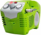 Greenworks G40AC Accu compressor   40 Volt compressor met 2 liter tank zonder accu en lader