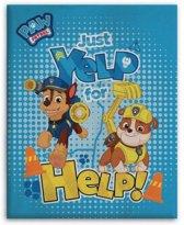 Nickelodeon Fleece-deken Paw Patrol Lichtblauw 110 X 140 Cm