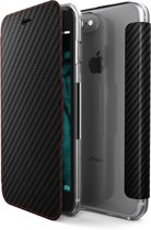 X-Doria Booklet Carbon Fiber - zwart - voor iPhone 7 Plus en iPhone 8 Plus