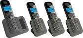 AEG Voxtel D500 - Quatro DECT telefoon - Zwart