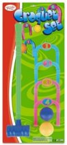 Toyrific Croquet Set Multicolor 7-delig