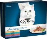 Gourmet Perle Mini Filets - Vlees & Vis - Kattenvoer - 5 x (8 x 85) g