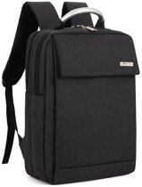 Rugzak | Compacte 15.6 Inch Laptoptas | Schooltas | Geschikt voor Boeken | Spatwaterdicht | Lovnix Bag105 KY-Z | Zwart