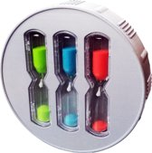 EcoSavers ShowerTimer Hourglass 3 Zandloper Douche Timer Shower Timer met 4 • 6 • 8 Minuten zandlopers Douchetimer
