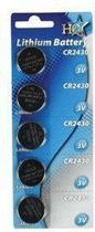 HQ, CR2430 Lithium Batterij 3 V - 5 stuks