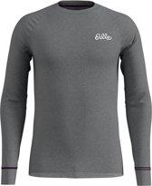 Odlo Bl Top Crew Neck L/S Active Warm Originals Heren Sportshirt - Grey Melange - Maat XL