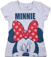 Disney-Minnie-T-shirt-met-korte-mouw-grijs-maat-128