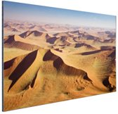 FotoCadeau.nl - Namibie Woestijn Aluminium 60x40 cm - Foto print op Aluminium (metaal wanddecoratie)