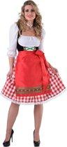 Tiroolse jurk met schort populair - Maatkeuze: Maat M