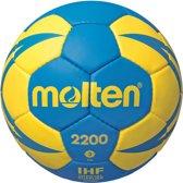 Molten Handbal - blauw/geel maat 2