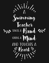 A Swimming Teacher Takes a Hand Opens a Mind and Touches a Heart