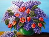 Artibalta Diamond painting Lilac Bouquet AZ-1314 40 x 30 cm