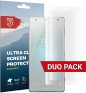 Rosso Sony Xperia XZ2 Ultra Clear Screen Protector Duo Pack
