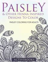 Paisley & Other Henna Inspired Designs To Color