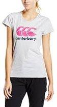 CANTERBURY CCC LOGO TEE - 8 -XS LIGHT GREY MARL