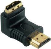 S-Impuls HDMI adapter - 90° haaks naar beneden - versie 1.4 (4K 30Hz)
