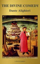 The Divine Comedy (Translated by Henry Wadsworth Longfellow with Active TOC, Free Audiobook) (A to Z Classics)