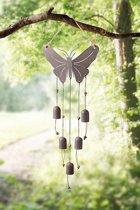 Windgong vlinder roest bruin