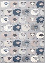 Kindertapijt met schaapjes - 120 x 170 cm