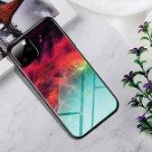 iPhone 11 Pro Max (6,5 inch) - hoes, cover, case - TPU - Gekleurde Wolken