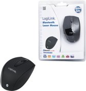 muis LogiLink Bluetooth 2.4 GHz 1600dpi Laser scroll black