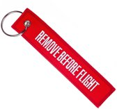 Motor sleutelhanger Remove Before Flight