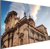De kathedraal van Dubrovnik Aluminium 180x120 cm - Foto print op Aluminium (metaal wanddecoratie) XXL / Groot formaat!