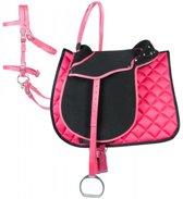PFIFF Complete uitrustingsset Pony PONY Zwart-pink