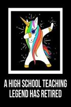 A High School Teaching Legend Has Retired