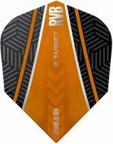 Target Ultra Raymond van Barneveld No6. Curve Black Orange  Set à 3 stuks