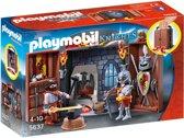 PLAYMOBIL Speelbox Ridder en Smid  - 5637