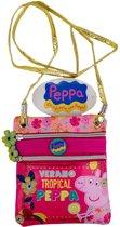 Peppa Pig schoudertasje Verano Tropical Peppa