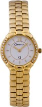Orphelia - MON-7016- Swiss Movement-Dames Horloge 18 Karaat Compleet Geel Goud -Diamant 0.20 Krt.
