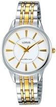 Lorus RG203NX9 horloge dames - zilver en goud - edelstaal