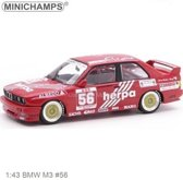 Minichamps BMW M3 #56 DTM 1988 Tauber Motorsport 1988 G.Müller Schaal 1:43