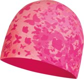 BUFF® Micro & Polar Hat Child Butterfly Pink - Kids Muts