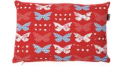 In The Mood Sierkussen Butterfly - 30x45 cm - Rood