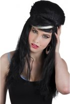 Zwarte Amy Winehouse pruik