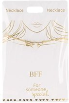 Ketting BFF, gold plated