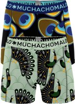 Muchachomalo Heren 2Pack Short Proud as a Peacock-XXL (8)