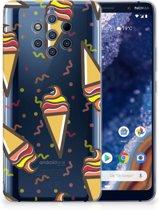 Nokia 9 PureView Siliconen Case Icecream