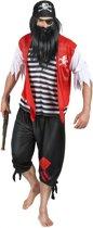 Piraten kostuum voor mannen - Verkleedkleding - One Size