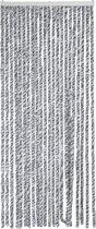Arisol Vliegengordijn - Caravan - 'kattenstaart' - 185x56 Cm - Antraciet/Grijs/Wit