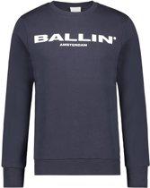 Ballin Amsterdam Original Logo Sweater Navy