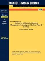 Outlines & Highlights for Marketing Management