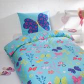 Day Dream Pien - dekbedovertrek - flanel - eenpersoons - 140 x 200 - Blauw