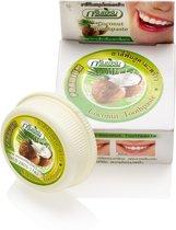 Kokos Tandpasta op basis van Kokosolie, zonder Fluoride om uw Tanden Thuis natuurlijk Witter te maken